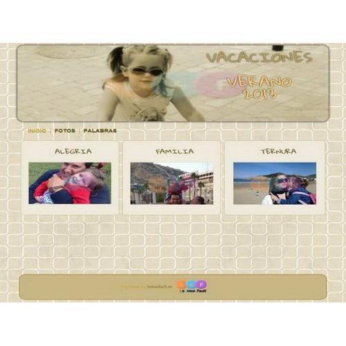 WEB Vacaciones - Plantilla 002
